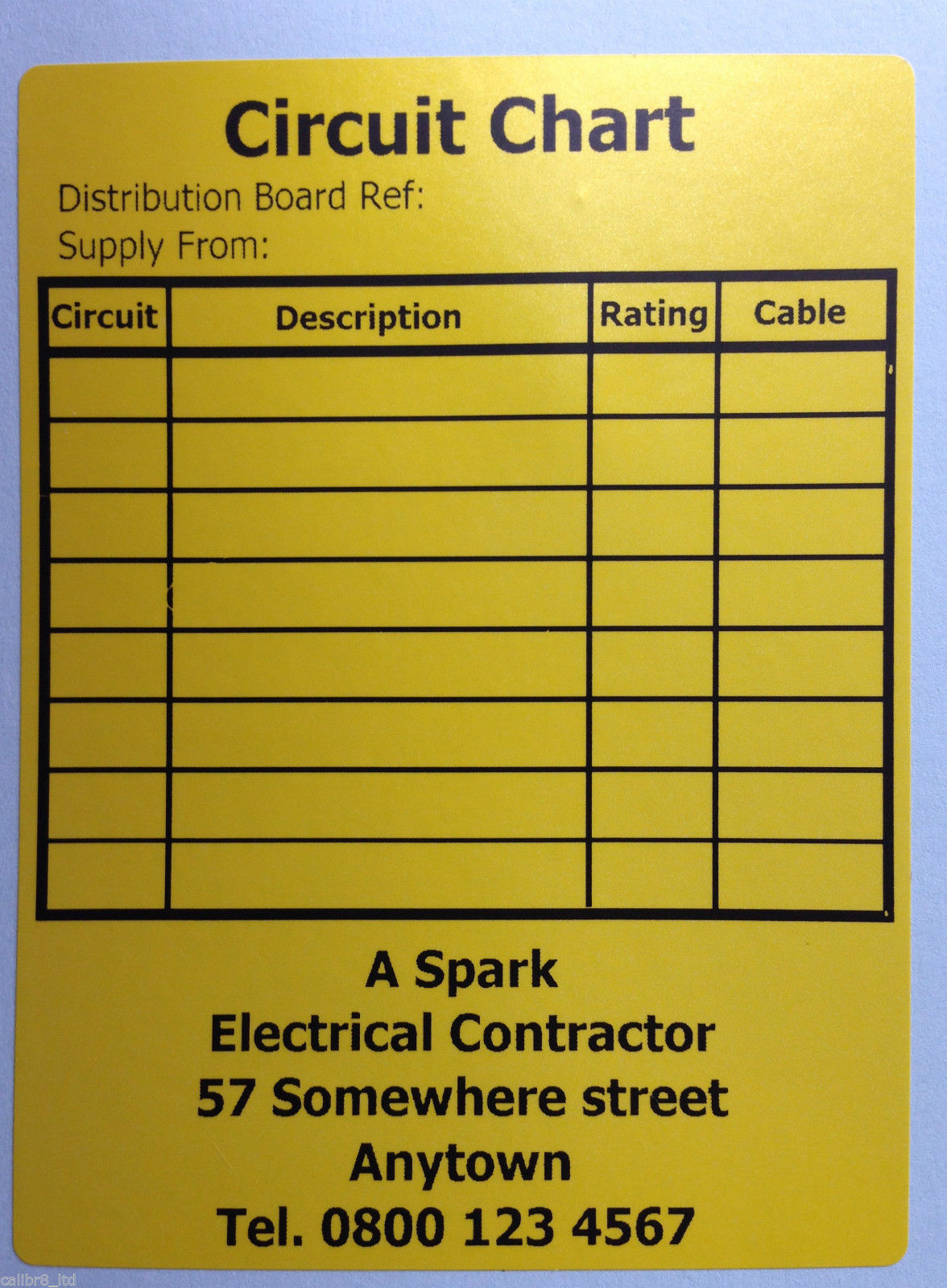 perfect distribution board circuit chart template image resume